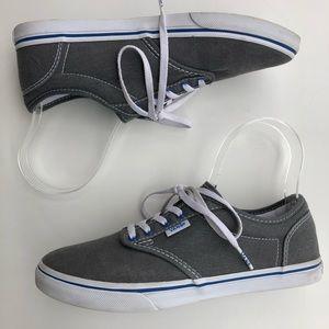 Vans Grey Womens Sneakers size 6.5